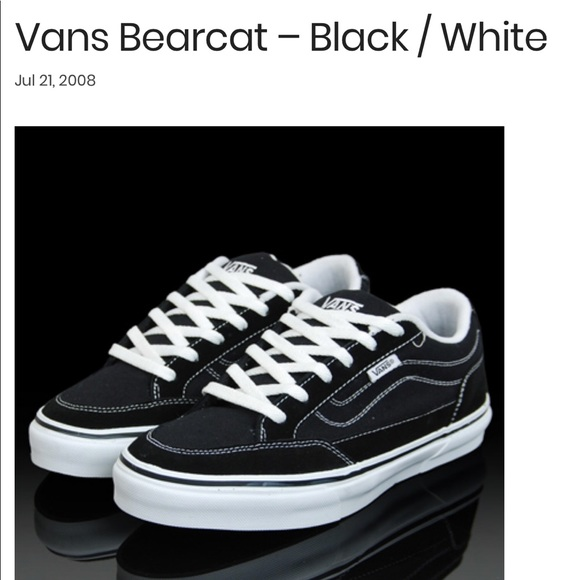 "8b4b6232407ccb Womens Vans ""bearcat"" sneakers"